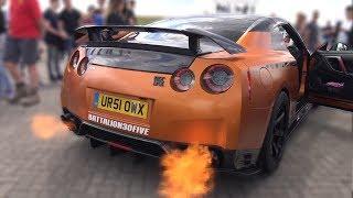800HP Litchfield Nissan GT-R R35 w/ Boost Logic Exhaust! FLAMES & REVS!