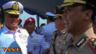 Kepala Staf Angkatan Laut Pimpin Sertijab Panglima Koarmabar Panglima Kolinlamil di Tanjung Priok