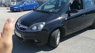 Opel Zafira 1.8л бензин Автомобили из Европы на заказ