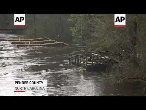 Roads, highways remain closed in NC amid flooding