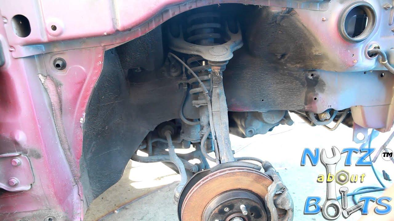 2000 Honda Accord Parts 1994-2001 Acura Integra GSR Front suspension replacement - YouTube