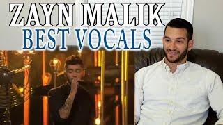 SINGING TEACHER reaction to ZAYN MALIK 39 S BEST LIVE VOCALS