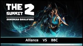 [ Dota2 ] Alliance vs BBC - The Summit 2 European Qualifiers - Thai Caster