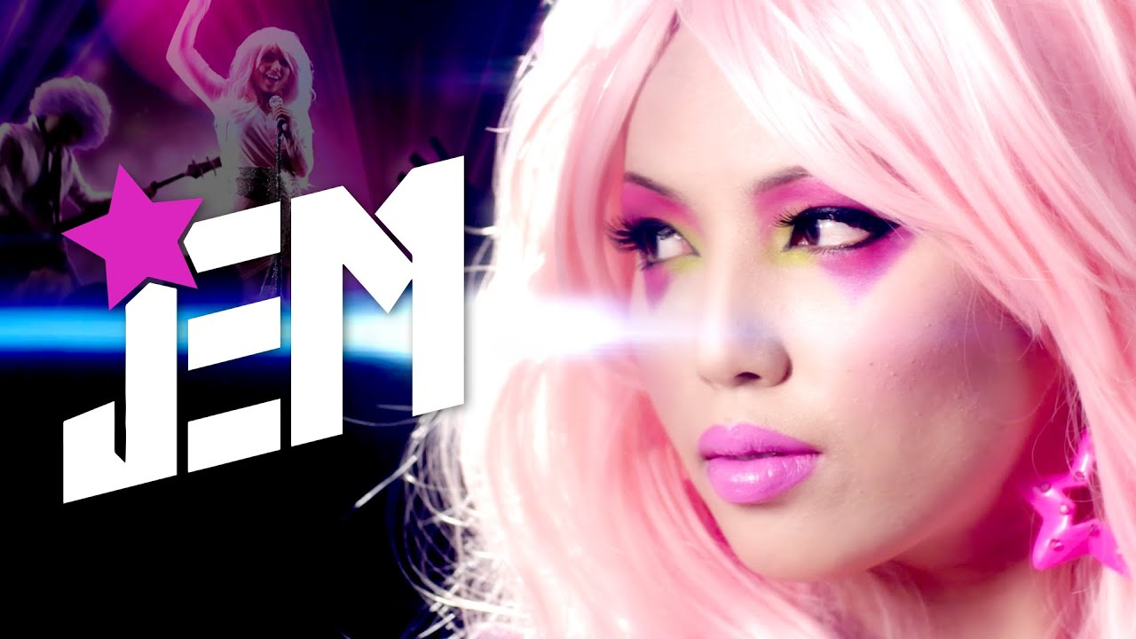 Jem and the holograms jem makeup tutorial face the movies w jem and the holograms jem makeup tutorial face the movies w promise phan youtube ccuart Images