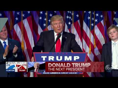 PART 5: Donald Trump elected President of the United States
