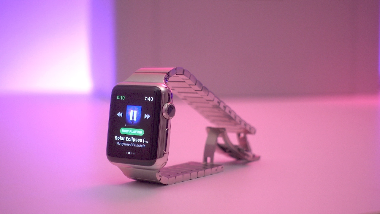 download spotify music to apple watch