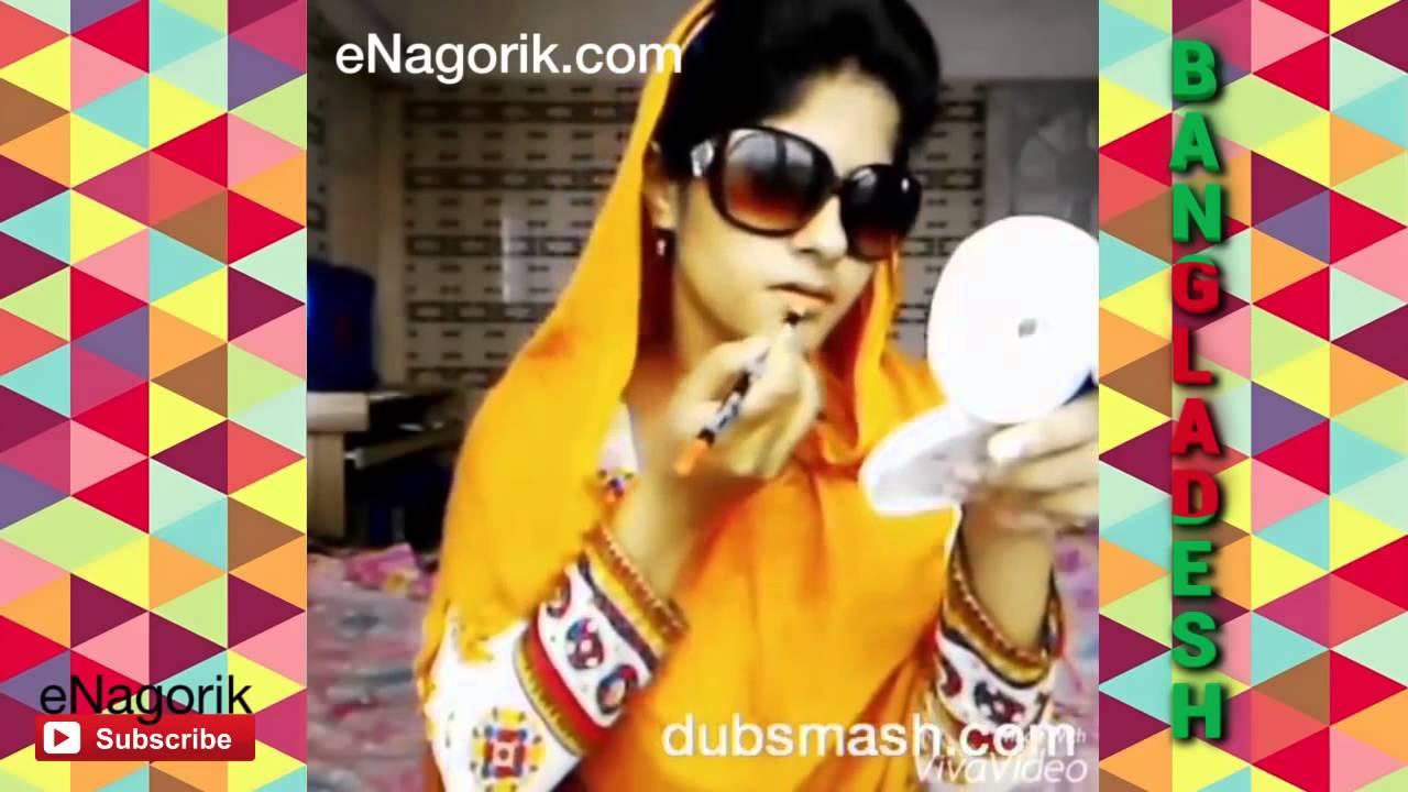 Bangladeshi teen having fun