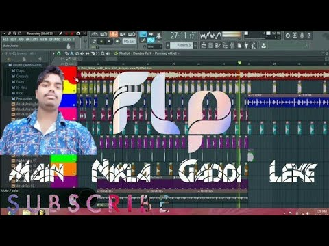 Main_Nikla_Gaddi_Leke  { Gadar  Hard Bass Fadu Danse Mix}~ Flp Project-Dj Shubham Production