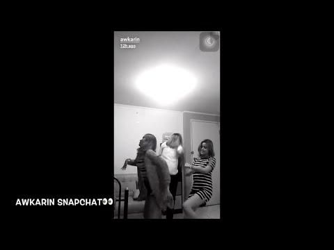awkarin joget2 di apartement keseharian awkarin snapchat 29agustus