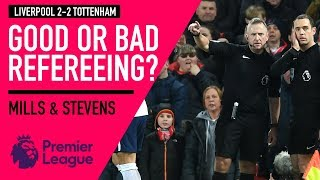 Good or bad refereeing? | Liverpool 2 - 2 Tottenham | Astro SuperSport