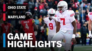 Highlights: Ohio State at Maryland | Big Ten Football