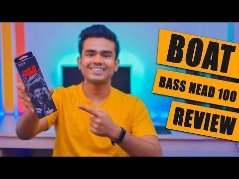 Boat BassHead 100 Unboxing & Review   Best Earphones Under 500 Rs