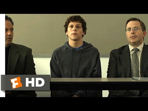 The Social Network (2010) - I Deserve Some Recognition Scene (2/10) | Movieclips