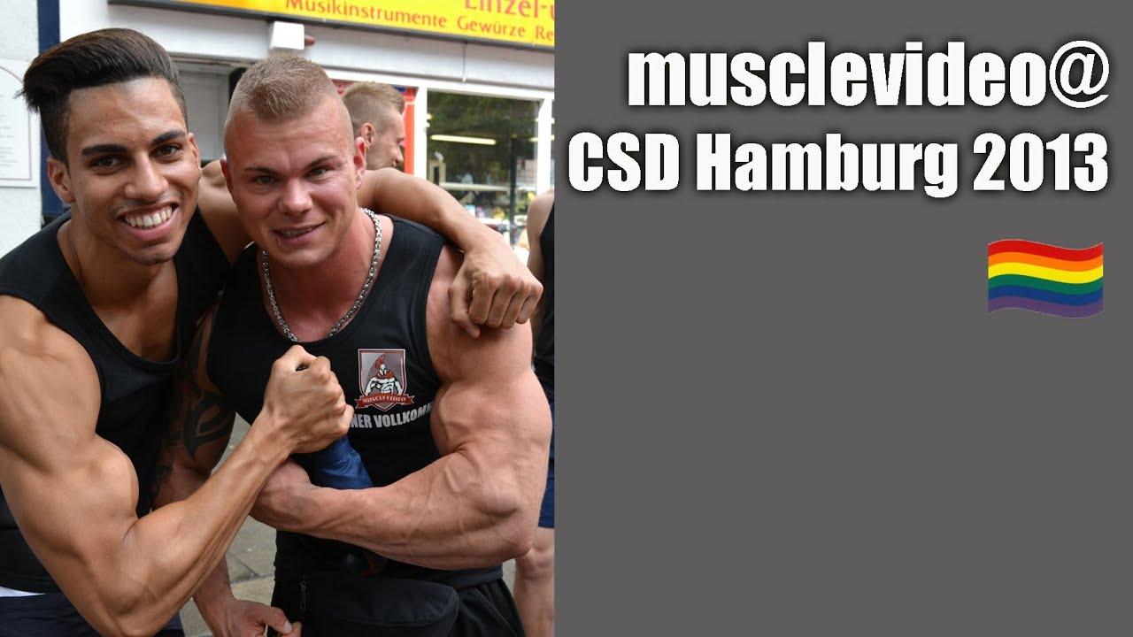 musclevideo @CSD Hamburg 2013 (Hamburg Pride) - YouTube