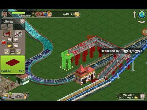 Rollercoaster Tycoon Classic2wir Bauen Eine Wasserbahn Mobile
