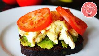 How To Make Scrambled Egg - Scrambled Eggs Recipe - Как приготовить яичницу-болтунью