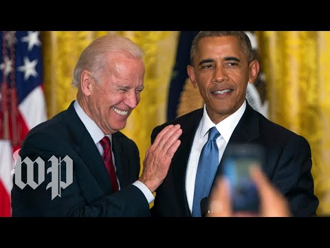 Obama hits the campaign trail for Biden