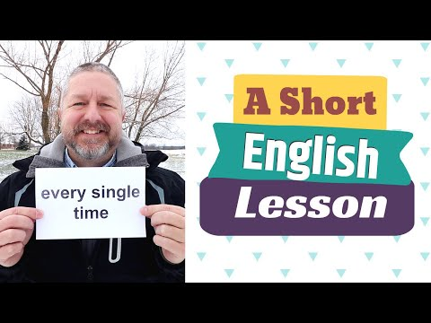 Learn the English Phrases EVERY SINGLE TIME and IT'S TIME TO...