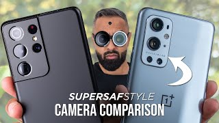 OnePlus 9 Pro vs Galaxy S21 Ultra Camera Test Comparison