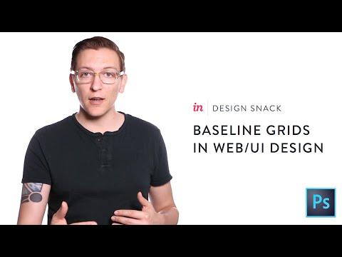 Using baseline grids in web & UI design - InVision Design Snack #7