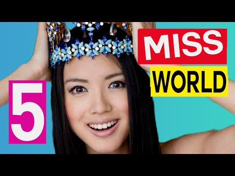 5 MOST Beautiful and Inspirational MISS WORLD Ever (Winners)