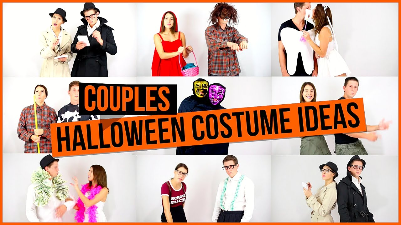 couples halloween costume ideas youtube - Halloween Costumes Idea For Couples
