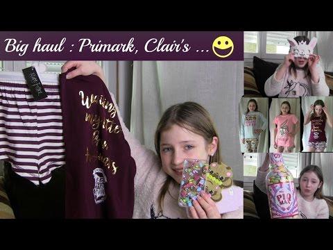 Big haul : Primark, Lush, Claire's (nouvelles coques de tel ), Hema...