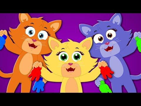 three little kittens | nursery rhymes | kids songs | children rhymes | cat song