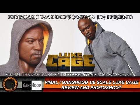 Vimal / Ganghood 1/6 Scale Netflix Luke Cage Review and Photoshoot