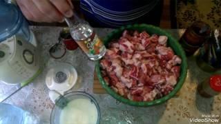 Маринуем шашлык в томатном соусе
