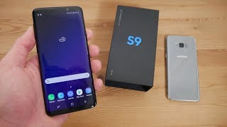 SAMSUNG GALAXY S9 UNBOXING