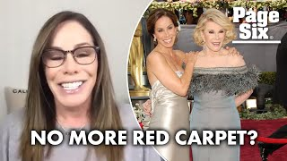 Melissa Rivers on the death of the red carpet: 'It's been on life support'   Page Six Celebrity News