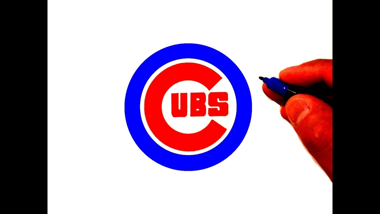 How To Draw The Cubs Logo Youtube
