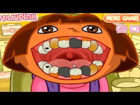 DORA THE EXPLORER - Dora's Dental Care | Dora Online Game
