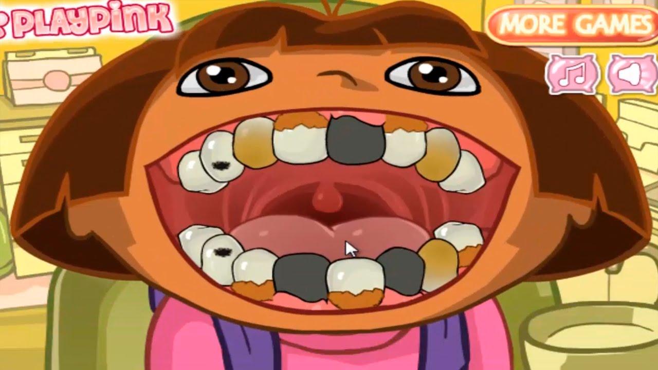 DORA THE EXPLORER - Dora's Dental Care | Dora Online Game ...