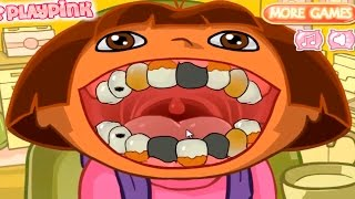 DORA THE EXPLORER - Dora's Dental Care | Dora Online Game