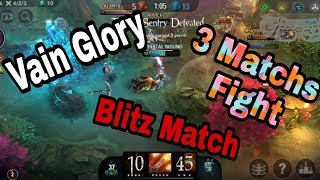 Fighting 3 Vainglory Blitz Matchs in a row is not easy // Ringo Hero is everything