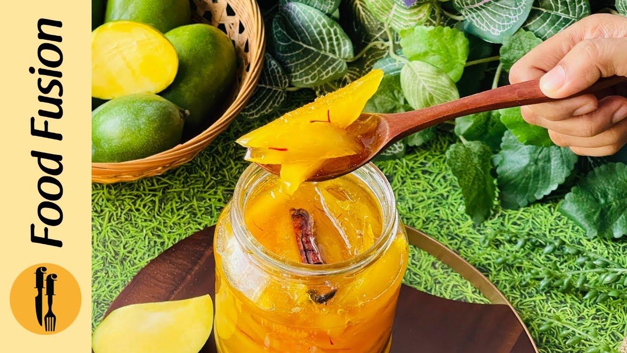 Aam ka Murabba / Raw Mango - Kari  Murabba Recipe By Food Fusion