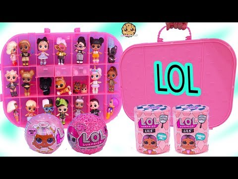 New Fashion Show On The Go Collection Case + Blind Bags LOL Surprise Video