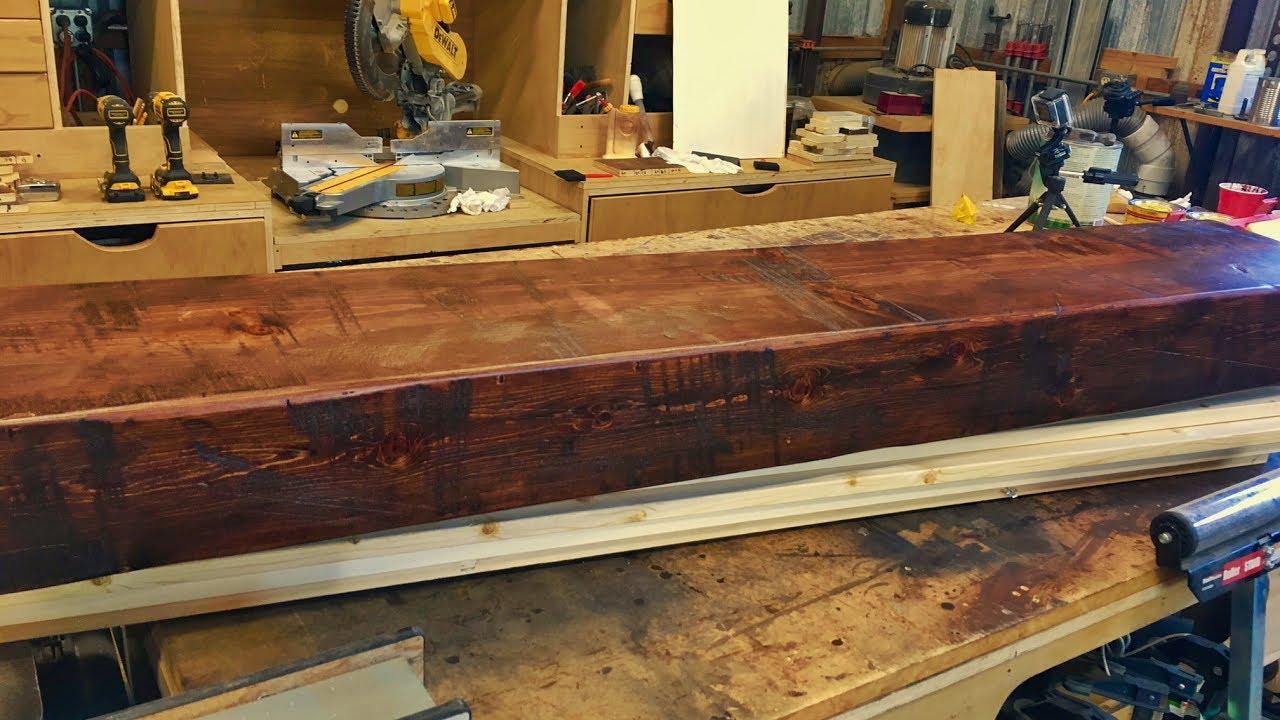 building a rustic wood