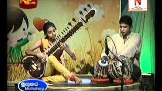 Download Hindi Video Songs - Tere Mere Milan Ki Instrumental (Sitar) by Sathsarani Karunarathne Ft Gayan Kekulawala
