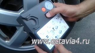аварийный комплект для шин компрессор и герметик VAG  2K0 601 703