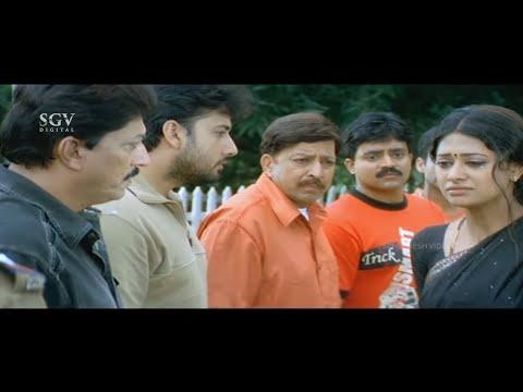 Dr.Vishnuvardhan's Wife Takes Murder Blame   Jyeshta Kannada Movie Best Scene   Ashima Balla