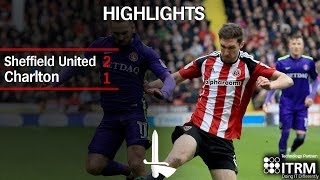HIGHLIGHTS | Sheffield United 2 Charlton 1