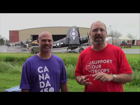 Vintage Wings Live: Canada Day 2017