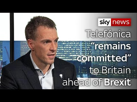 "Telefónica ""remains committed"" to Britain ahead of Brexit"