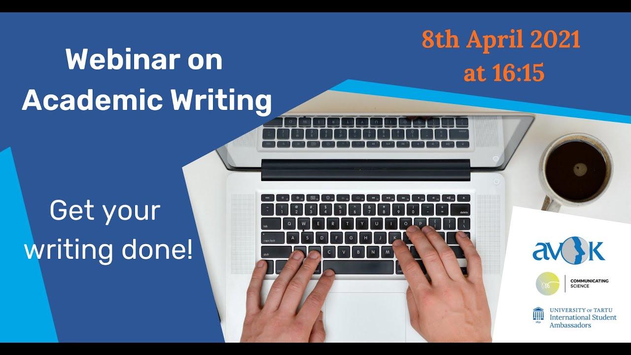Webinar on Academic Writing
