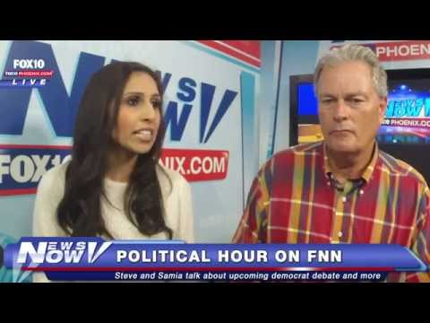 FNN: Sen. McCain on FNN Set, Democrat Debate Preview, Anti-VA Billboards in Phoenix