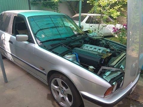 BMW E34 525 НЕ ЗАВОДИТСЯ! Позвонил специалисту!!!!