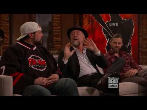 Talking Dead - Xander Berkeley on bringing Gregory from comic to life